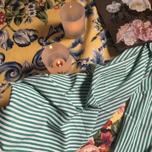 Zaful Tops - 🌻 Off the Shoulder Striped Button Down 🌻